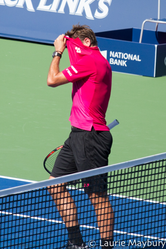 Stan Wawrinka at the 2016 Roger's Cup
