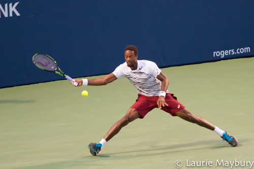 Gael Monfils at the 2016 Roger's Cup